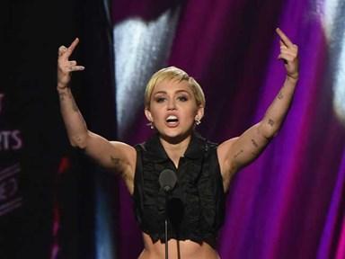 Miley Cyrus has armpit hair. So what?