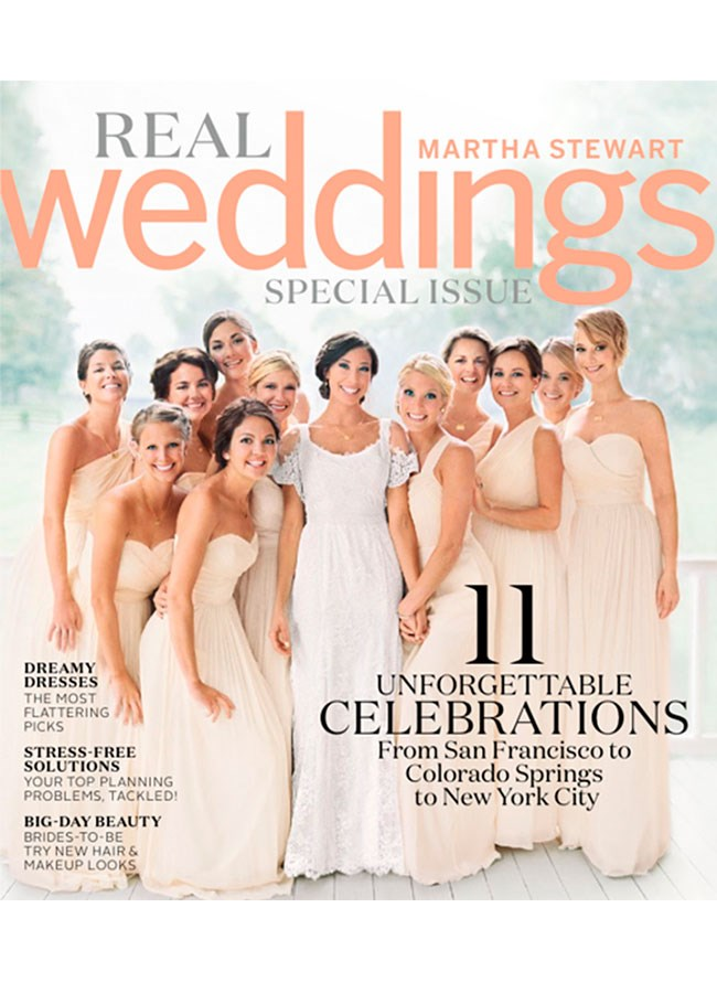 Making the cover of a magazine is nothing new to Jennifer Lawrence, but this time round all eyes aren't on the Academy Award winner but her new sister-in-law. The October 2013 wedding of Blaine Lawrence (Jen's brother) and Carson Massler was featured on the over of Martha Stewart Real Weddings, and it's just as delightful as you'd expect.