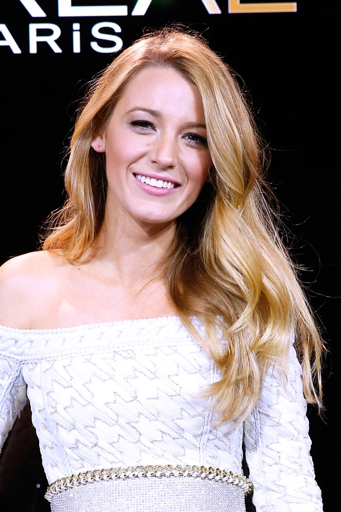 Soft, bombshell waves are Blake's go-to style. The day-to-night-to-premiere look is so versatile and oh-so glam.