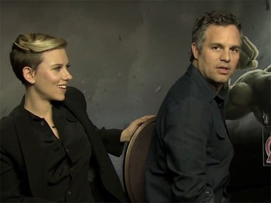 ScarJo and Mark Ruffalo answer each other's sexist questions