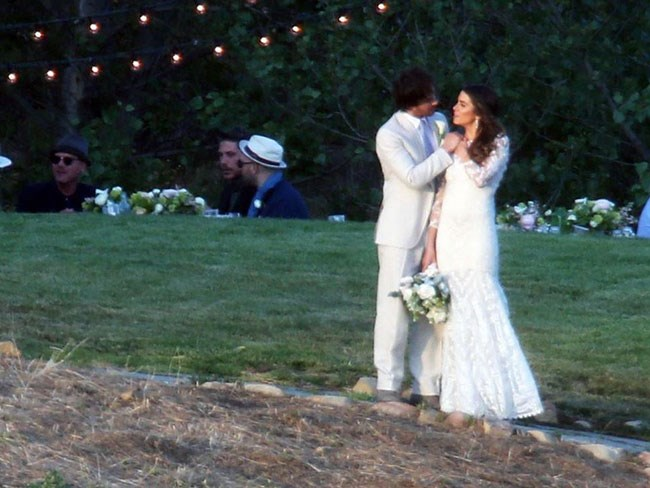 Ian Somerhalder Nikki Reed wedding