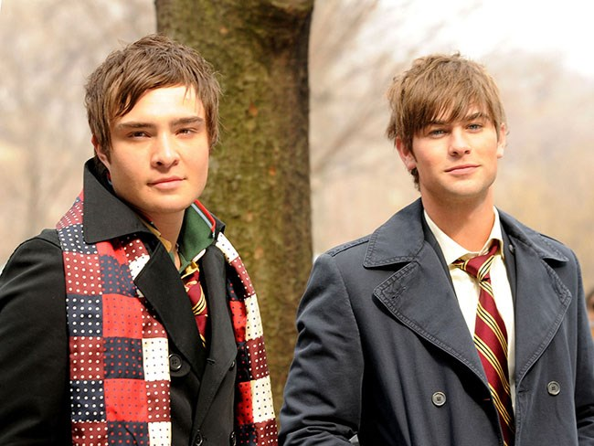 Ed Westwick Chace Crawford
