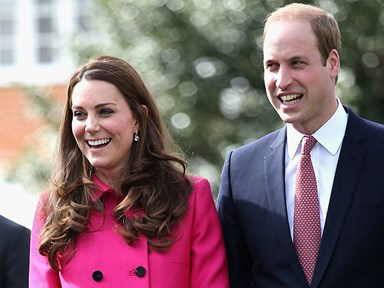 Prince William and Kate Middleton sent royal baby fans coffee and croissants