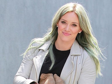 Hilary Duff took her Lizzie McGuire cast mates on her Tinder date