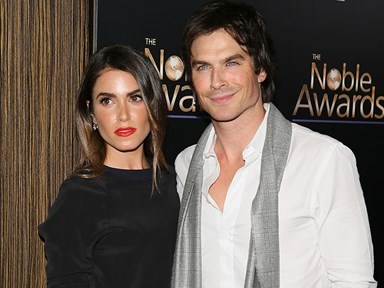 Ian Somerhalder and Nikki Reed are the cutest honeymooners ever