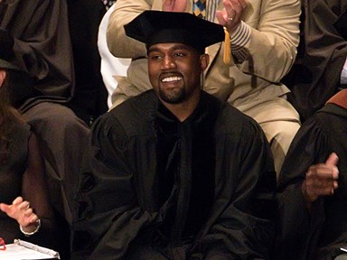Kanye West is a doctor now!