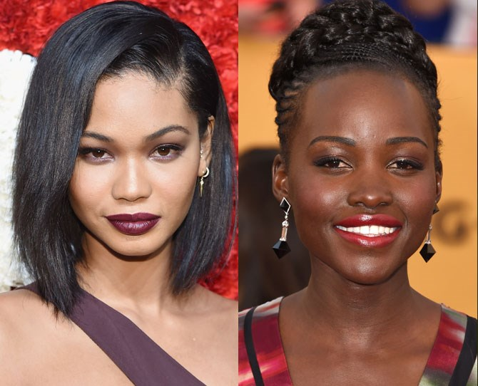 **Darker complexion = Deep plums, berries and reds** Blue-based reds and cool shades work best with darker skin. Unless you're going for a retro feel or statement bright lip, avoid anything too pale. Deeper shades look more naturally flattering and highlight your smile. Warm up the rest of your face with a cream bronzer and highlighter.