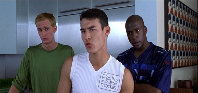 Also/always worth noting, Highsmith played one of the male models in*Zoolander*: