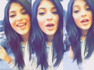 So it turns out Kylie Jenner can sing
