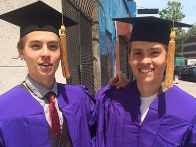 Cole Sprouse i.e. Ben from Friends just graduated uni