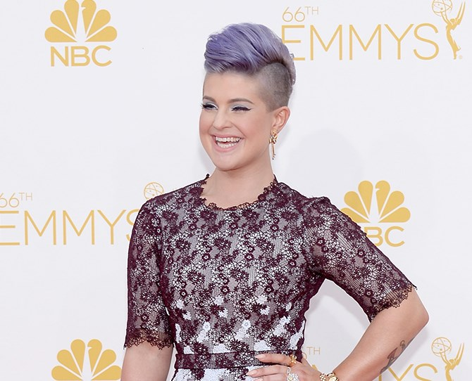 Kelly Osbourne's lilac hair has become her trademark. But seeing as she was locked into keeping it by her *Fashion Police* contract, and that ship has now well and truly sailed, it was only a matter of time until she went for a revamp...