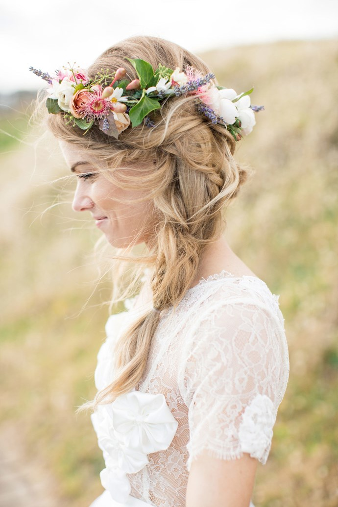 13. Petals and Plaits *(via lovedalephotography.com.au)*