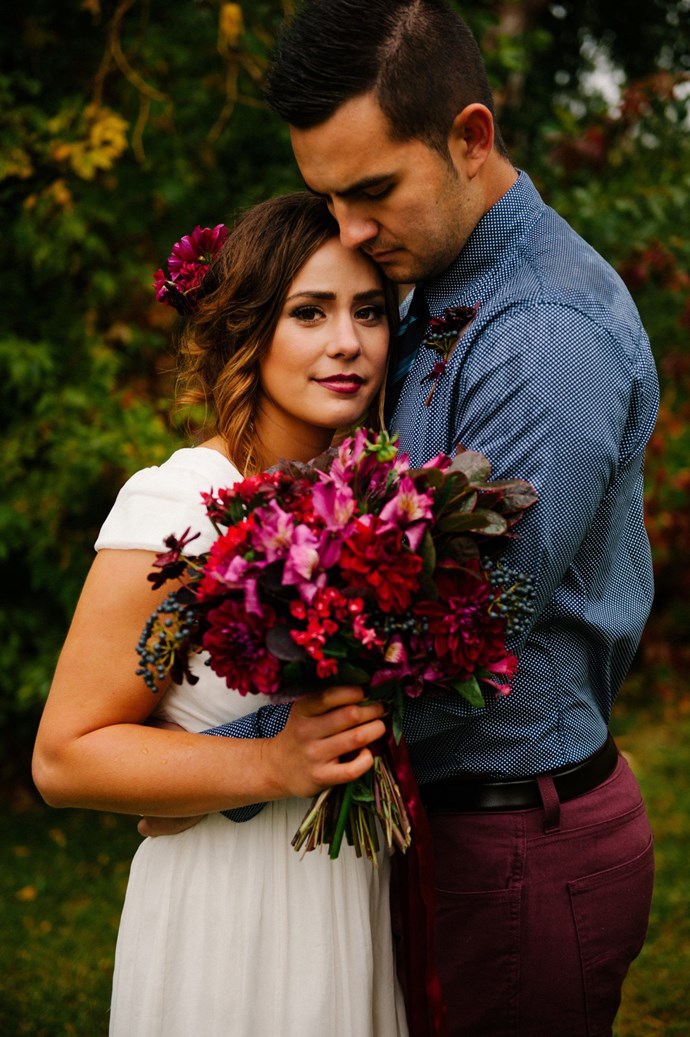 23. Burgundy Blooms *(via Brooke Schultz)*