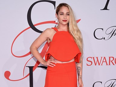 Some people aren't happy about Jemima Kirke's hairy armpits