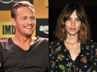 Alexander Skarsgård and Alexa Chung are an item