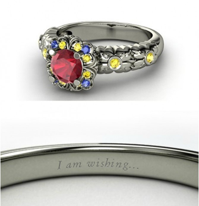 Snow White's ring may just be the fairest in all of the land.