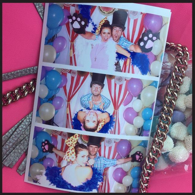"Nina Dobrev also used this opportunity to debut her new bae Austin Stowell. *""@[ninadobrev](https://instagram.com/ninadobrev/): Photobooth Fun![#babyshower](https://instagram.com/explore/tags/babyshower/)[@jaime_king](https://instagram.com/jaime_king/)[@kyle_newman](https://instagram.com/kyle_newman/)""*"