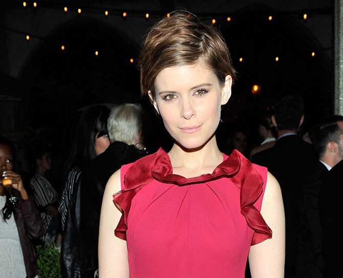 Forget shimmer. Kate Mara proves highlighting sharper-than-cut-glass cheekbones is easy with a fresh pixie cut. And don't even get us started on the gorgeous natural colour.