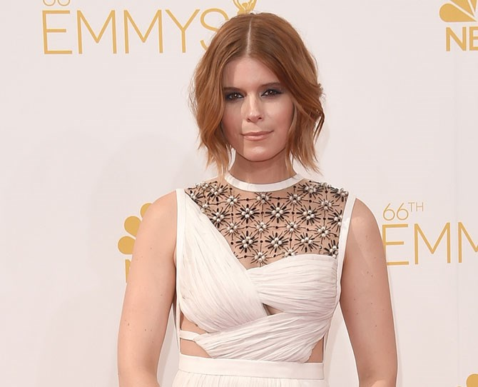 Kate Mara's sassy, sienna-coloured bob is officially NON-EXISTENT after she debuted new hair at The Max Mara 2015 Women In Film Face Of The Future event.
