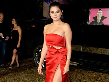 People are angry about what Selena Gomez wore to Hotel Transylvania 2 premiere