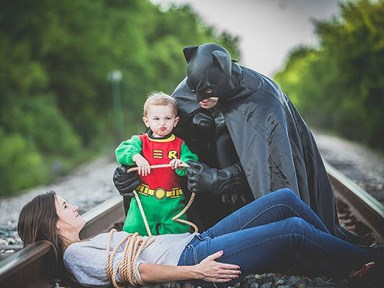 "This family is getting death threats after a ""Batman"" photo went viral"