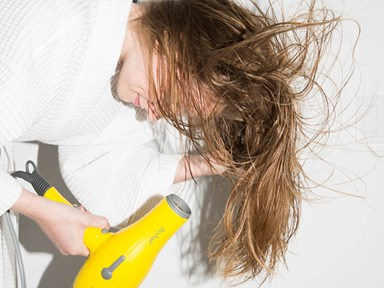 There's a new way to combat sweaty hair