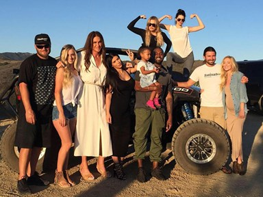 Caitlyn Jenner and her kids went off-roading for Father's Day