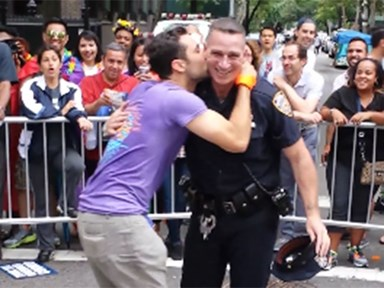 This sexy cop bustin' a move at NYC Gay Pride parade is everything the world needs