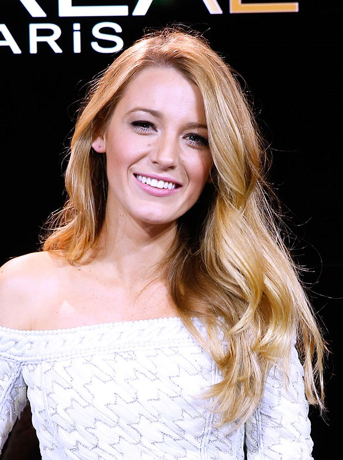 Blake Lively no longer has the MOST enviable blonde hair.