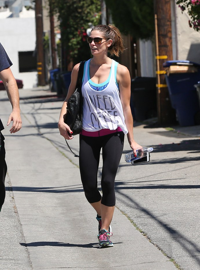 Ashley Greene's tank is the realest top we've seen all day.