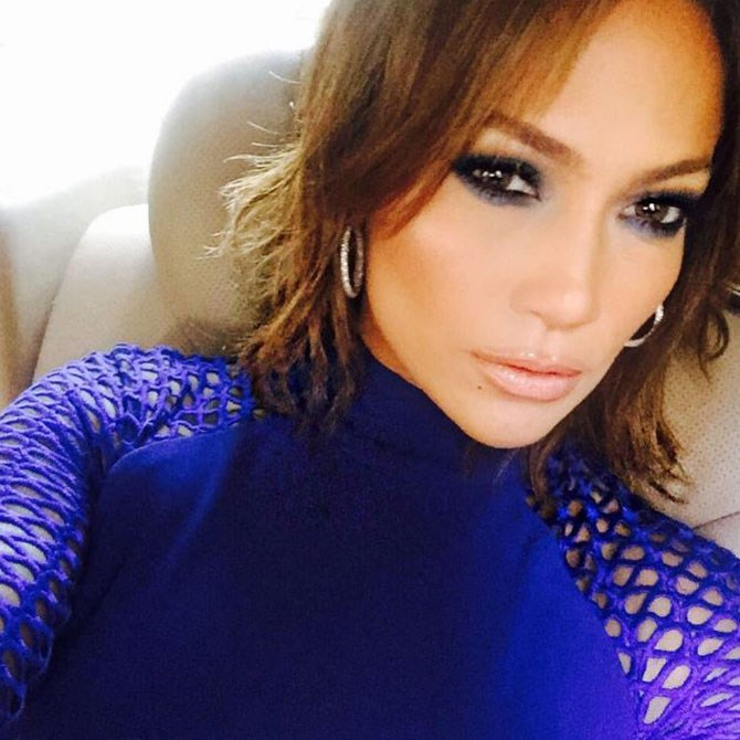 J-Lo proved she now has little hair rather than a lot, sharing this pic of her sassy new bob captioned 'Short hair don't care…'.