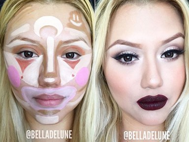 Everyone's clowning around with contouring