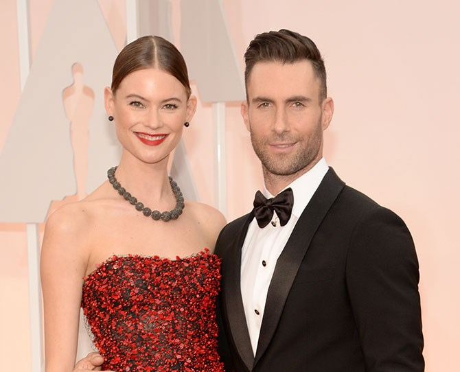 Adam Levine's salad was in *seriously* good shape, and now it's been finely chopped…