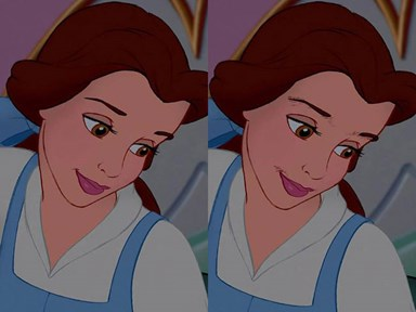 What Disney Princesses would look like with realistic body hair