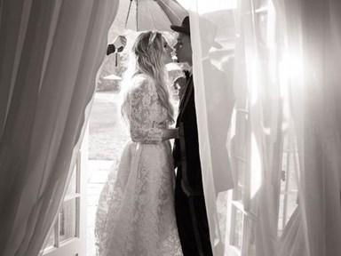 Ashlee Simpson and Evan Ross share their stunning wedding photos