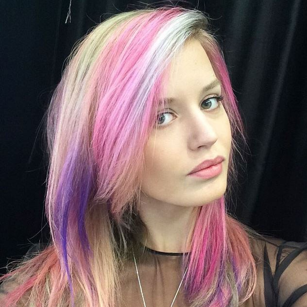 If a unicorn exploded, it would *probably* look something like this. Long live the rainbow look.