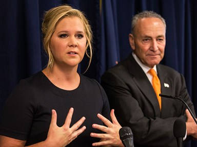 Amy Schumer speaks out against gun laws