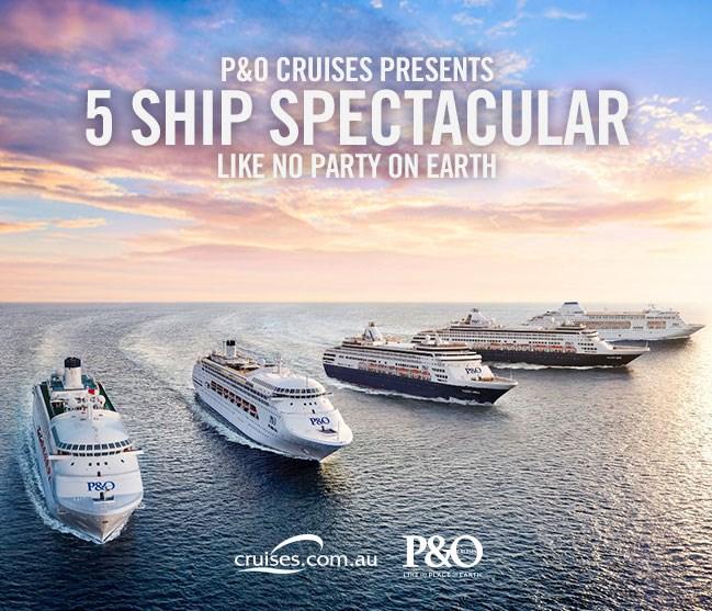 Win a 3 night cruise on-board P&O's Pacific Pearl