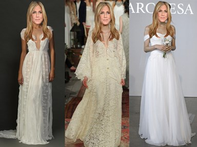 12 boho wedding dresses Jennifer Aniston would have looked perfect in
