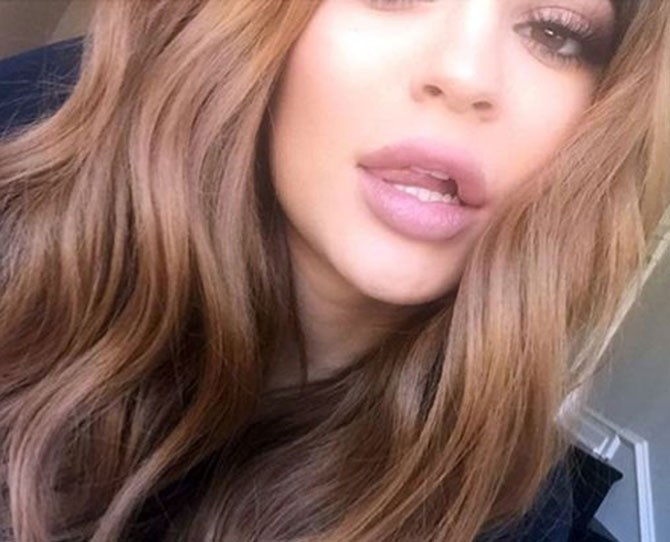 It was barely two days ago that we were coming to terms with Kylie Jenner's new bronde colour, but she hasn't stopped there with her hair changes.