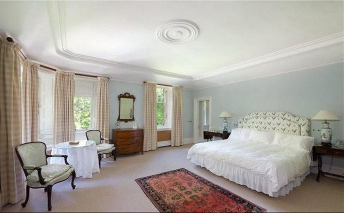 This bedroom is bigger than our collective apartments. Seriously.