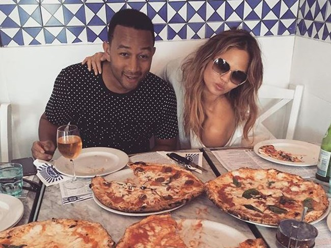 Here's what Chrissy Teigen eats every day