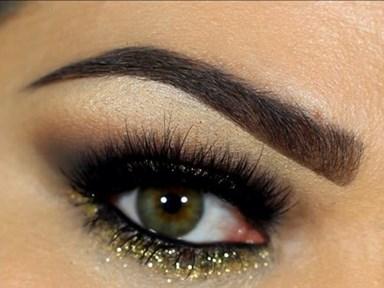 16 gorgeous ways to wear a glittery, smoky eye