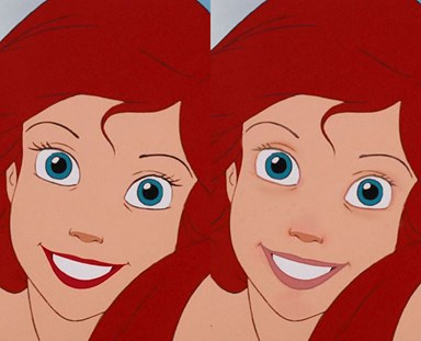 Here's what Disney Princesses look like without makeup