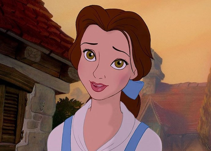 Belle has always had a steady hand with that on fleek eyeliner.