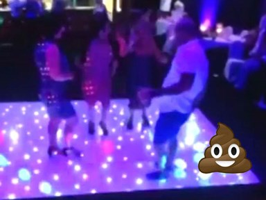Unfortunate clubber poos himself while trying to impress women on the dancefloor
