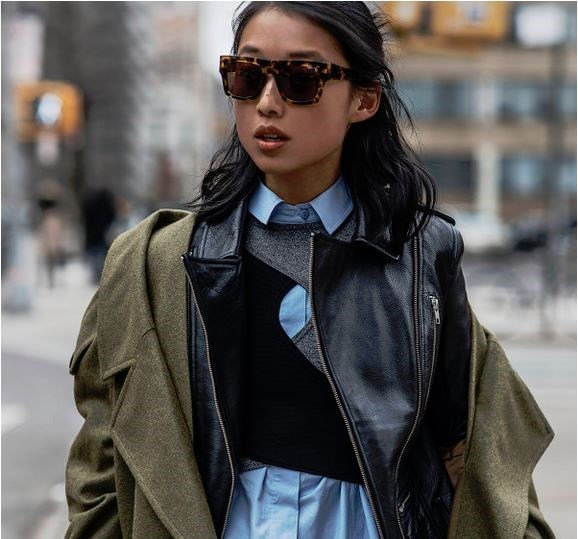 "Tomboy: Never caught dead wearing body-con? Love nothing more than a crisp button up shirt and some good ol' layering? Then Margaret Zhang, creator of Shine By Three, is your kinda cool. [@margaret__zhang](https://instagram.com/margaret__zhang/|target=""_blank"")"