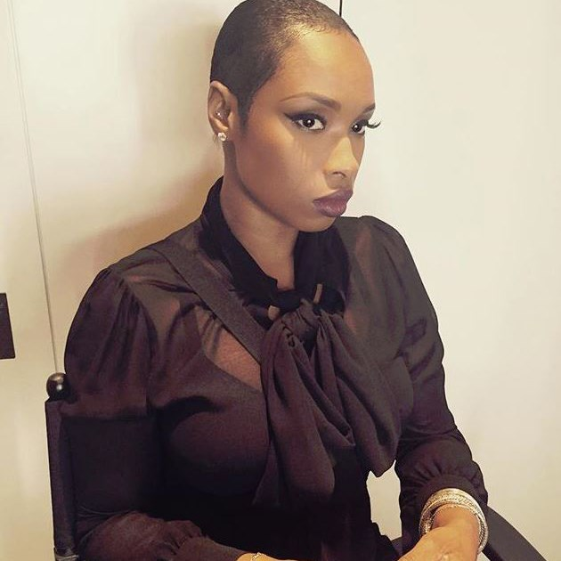 """But she's now officially got a sexy AF buzz cut. She captioned this snap on Instagram, """"All black every thang! Who needs hair, when u serving face !"""". We strongly agree."""