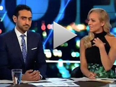 Carrie Bickmore moved to tears over Syrian refugee pictures on The Project