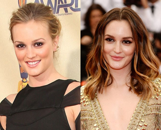 Obviously Leighton Meester look baben' whether she's au natural or filled in and bushy. Because Queen B can do no wrong. xoxo